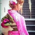 熊本市中央区下通 ヘアメイクevolution(エボリューション)着物着付けサンプル1